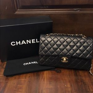 Chanel Vintage Classic Double Flap Bag Small